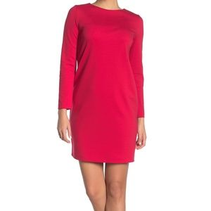 WOLFORD Baily Long Sleeve Shift Dress